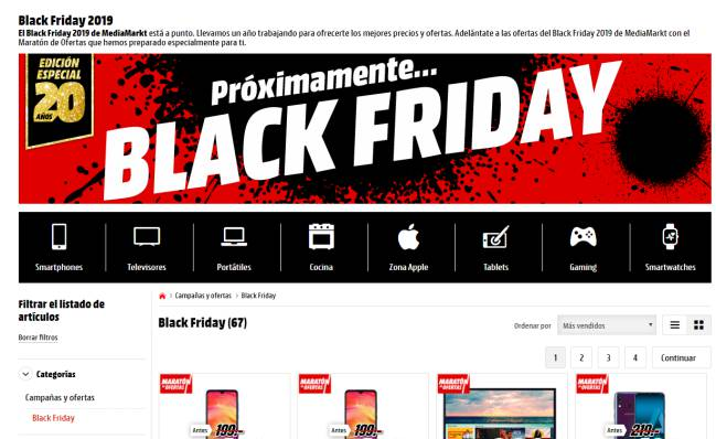 Black Friday Media Markt El Pionero En Traerlo A Espana En 2012 As Com