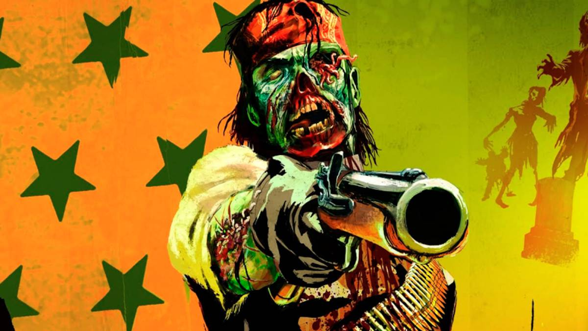 Los zombis llegan a Red Dead Redemption 2 gracias a un terrorífico mod
