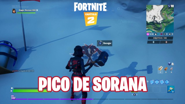 fortnite chapter 2 season 1 challenges alter ego challenge is the peak hidden in the loading screen of chaos rising while you are wearing the suit sorana
