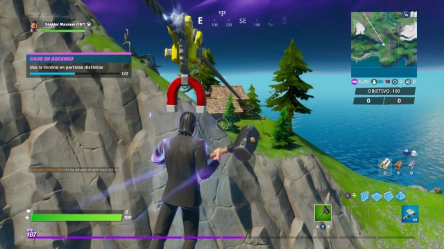 fortnite chapter 2 season 1 challenges chaos rising challenge usa zip in games different