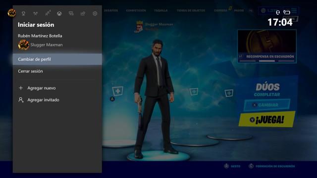 fortnite capitulo 2 como jugar pantalla partida ps4 xbox one
