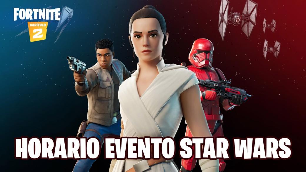 Evento Fortnite Y Star Wars El Ascenso De Skywalker Fecha Hora Y Cómo Ver En Directo Online Meristation