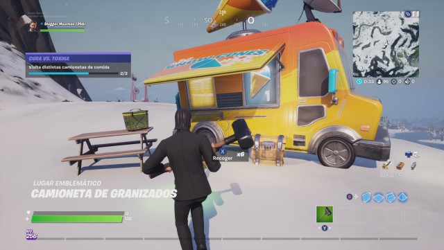 fortnite chapter 2 season 1 challenges cure vs toxin challenge visit different trucks of food