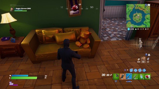 fortnite chapter 2 season 1 event gold objects gold