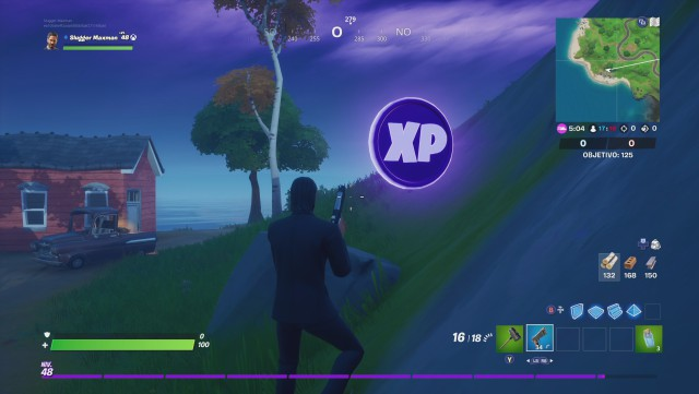 fortnite chapter 2 season 2 coins pe xp location location where are you