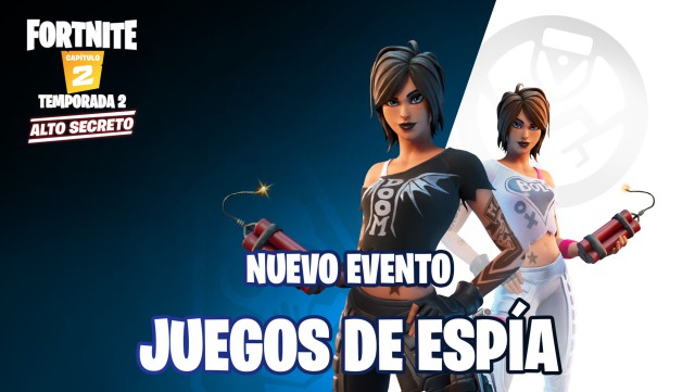 fortnite chapter 2 season 2 event games of spy operations