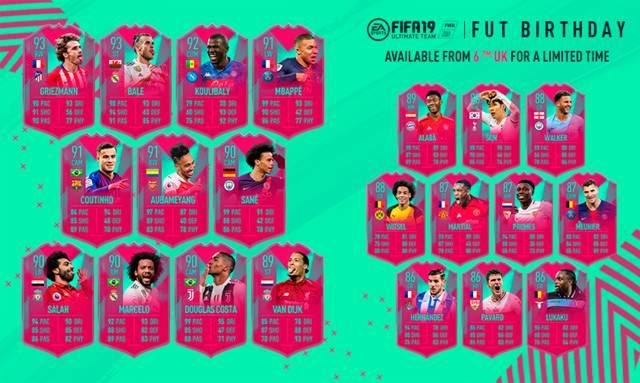 FUT Birthday en FIFA 20: qué es, horario y predicciones