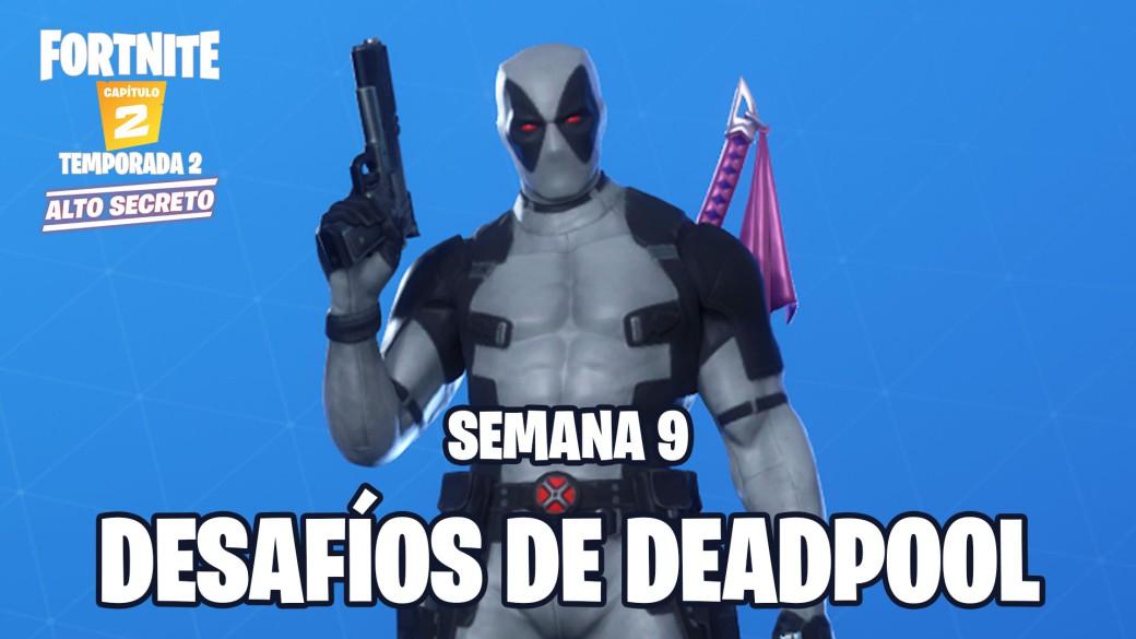 Desafio De Fortnite Donde Estan Los Pantalones De Deadpool Meristation