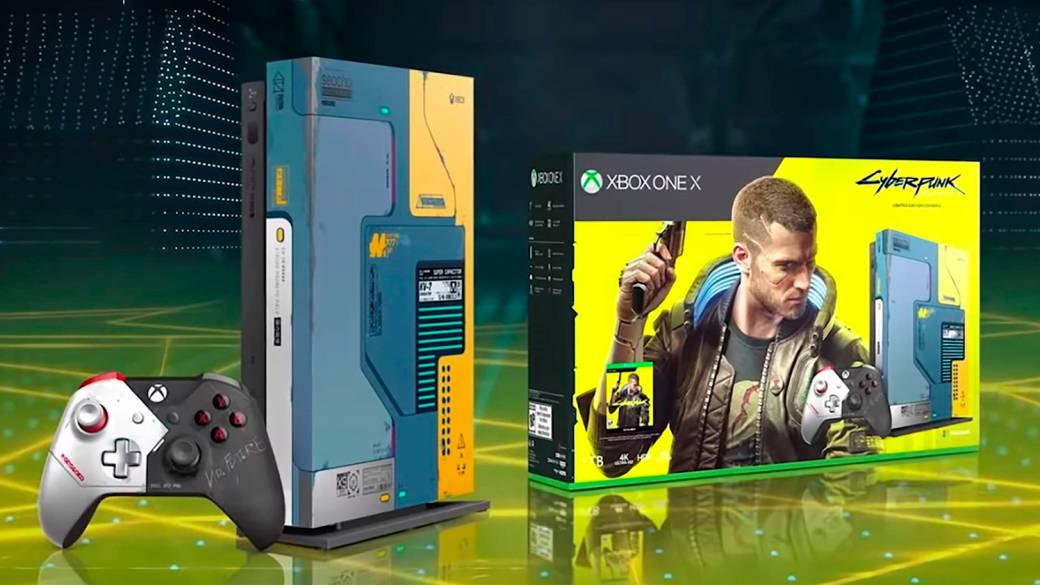 Así es la Xbox One X edición especial Cyberpunk 2077: fecha ...