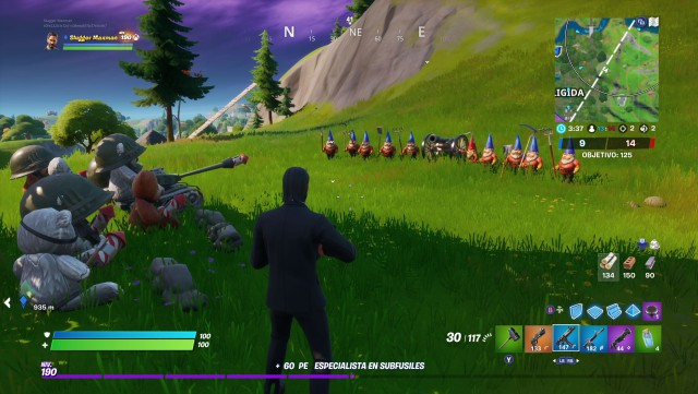 fortnite chapter 2 season 2 challenge secret bears gnomes to disarm to war
