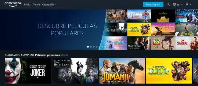 El Nuevo Amazon Prime Video Llega El Alquiler Y Compra De Películas En España As Com