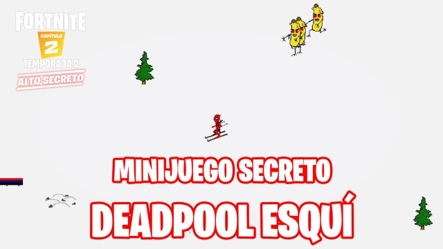 fortnite chapter 2 season 2 minijujego deadpool pfreely skifree