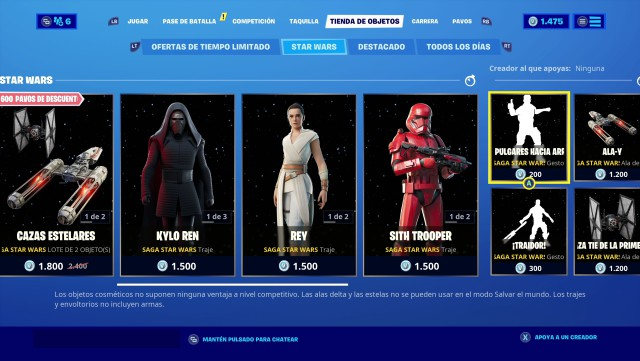fortnite chapter 2 season 2 skins star wars