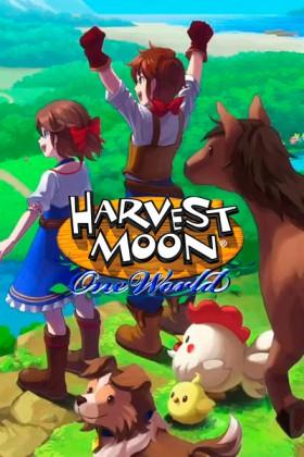 Carátula de Harvest Moon: One World