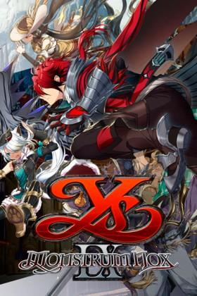 Carátula de Ys IX: Monstrum Nox