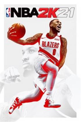NBA 2K21 cover art