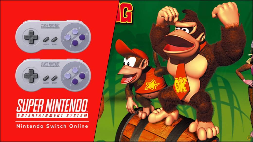Donkey Kong Country Llegará A Nintendo Switch Online Nuevos Juegos De Snes Y Nes Meristation