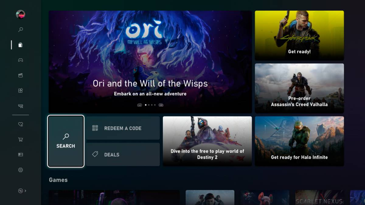 This is the new Microsoft Store on Xbox consoles: first look and features