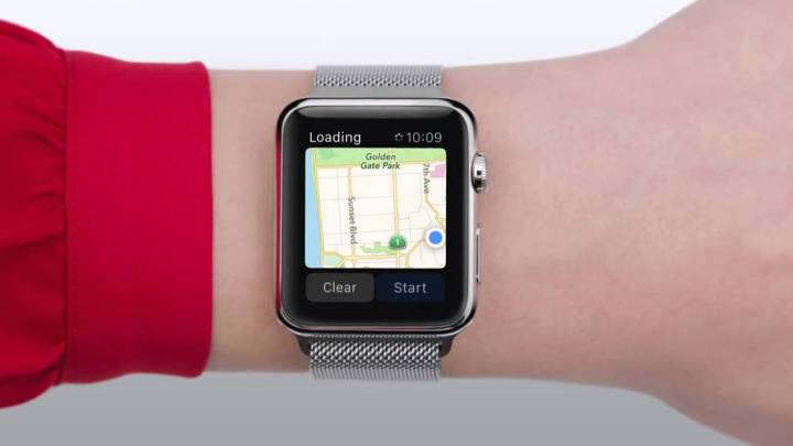 The Google Maps app returns to the Apple Watch