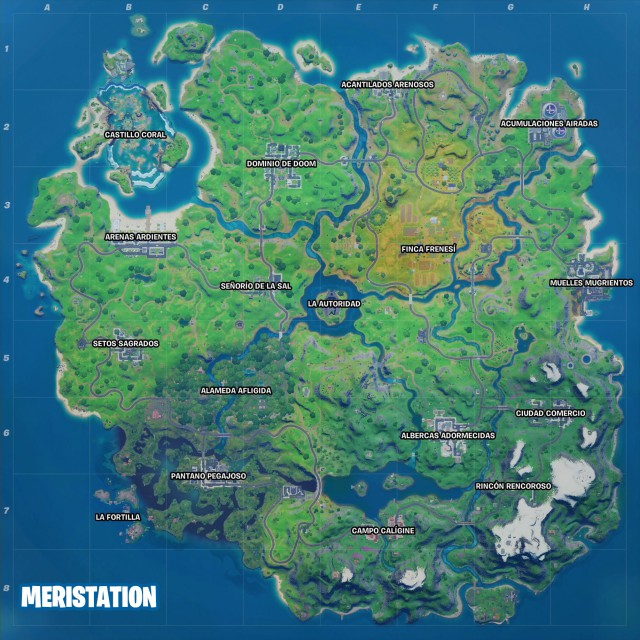fortnite capitulo 2 temporada 4 nuevo mapa