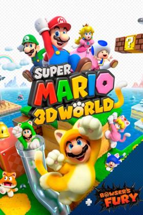 Carátula de Super Mario 3D World + Bowser's Fury