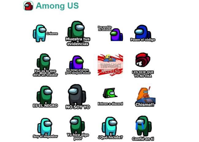 Stickers de Among Us! para WhatsApp: cómo instalar y descargar