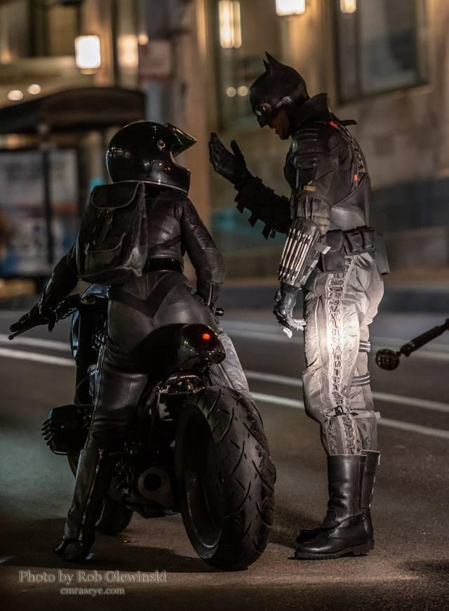 The Batman: nuevas fotos y vídeos de Batman y Catwoman en el set de rodaje de Chicago