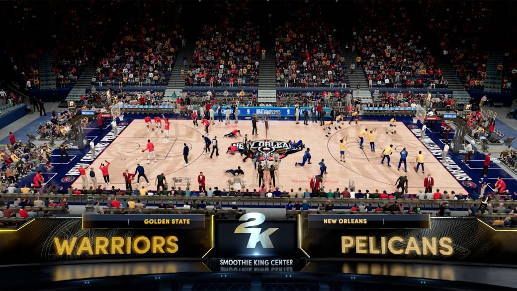 Gameplay tráiler de NBA 2k21 en PS5 con novedades y mejoras - MeriStation