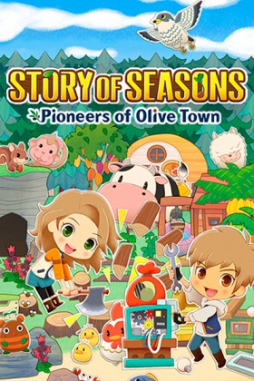 Carátula de Story of Seasons: Pioneers of Olive Town