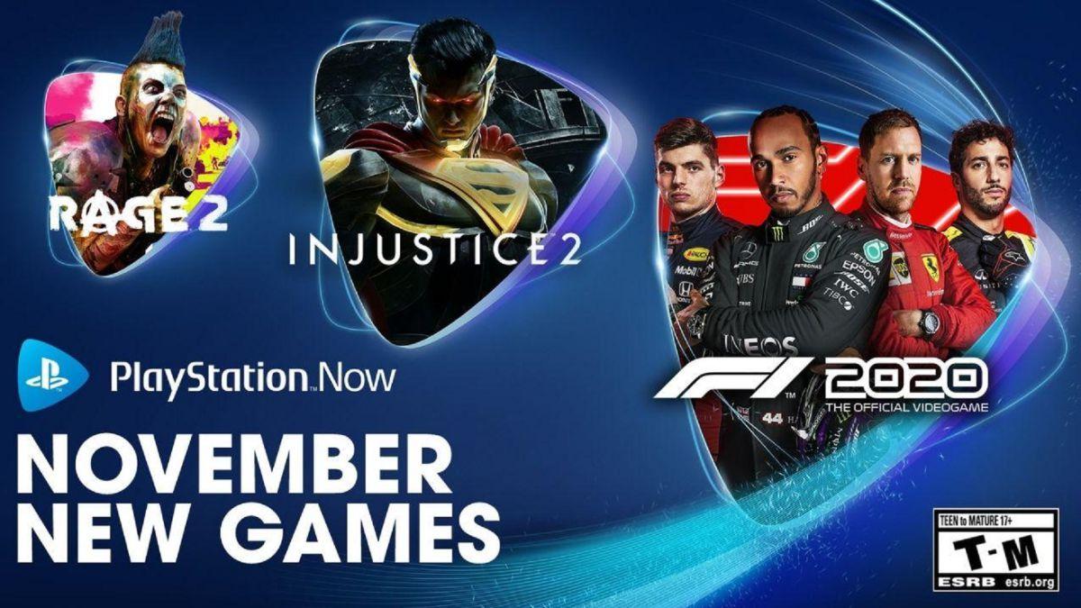 PS Now, juegos de noviembre de 2020