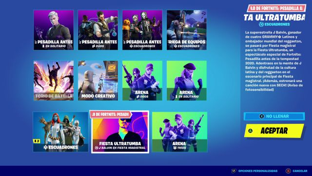 fortnite episode 2 season 4 j balvin concert afterlife master party watch live skin soldier party