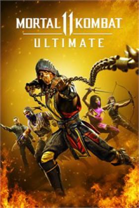 Mortal Kombat 11 Ultimate Cover