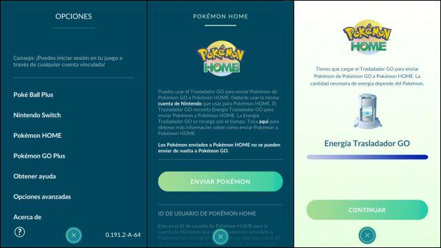How To Transfer From Pokemon Go To Pokemon Home Pokemon Go Hub