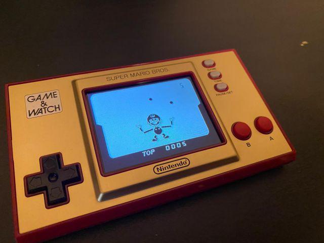 Game & Watch Super Mario Bros., impresiones del regreso de un clásico