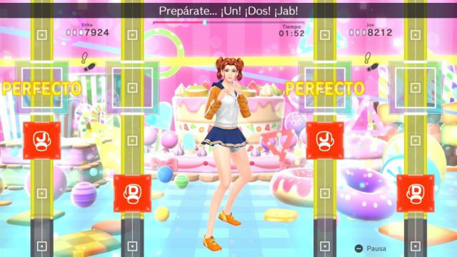 Fitness Boxing 2: Ritmo y ejercicio, Análisis Switch