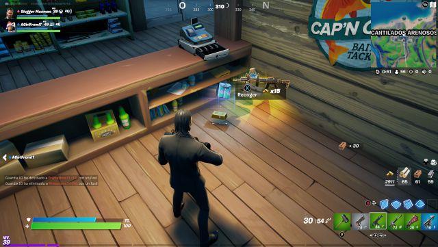 fortnite chapter 2 season 5 missions beskar mission collect bars