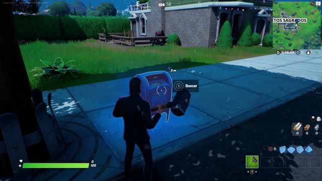 fortnite chapter 2 season 5 challenges missions week 2 challenge mission finds clues in sacred hedges and sleeping pools