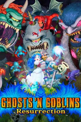 Carátula de Ghosts 'n Goblins Resurrection