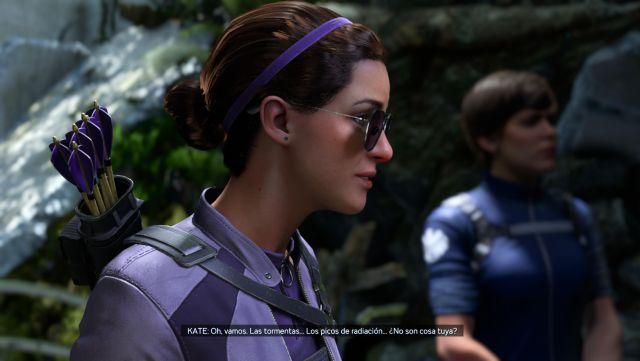 DLC Impresiones de la campaña de Kate Bishop de los Vengadores de Marvel