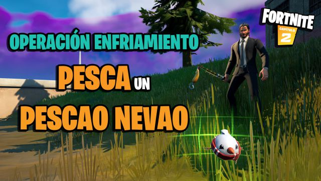 fortnite chapter 2 season 5 operation cooling challenges missions challenge mission fishing a fishing nevao