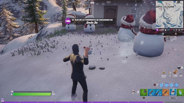 fortnite chapter 2 season 5 operation cooling challenges missions challenge mission hide inside a stealth cryomaniac in different games