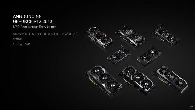 CES 2021: NVIDIA presenta la GeForce RTX 3060