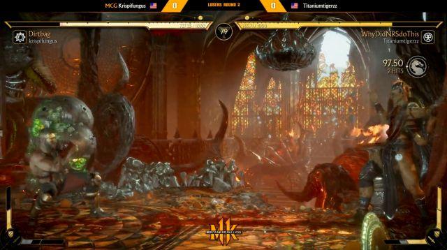 Mortal Kombat 11 jugador descalificado broma torneo competitivo