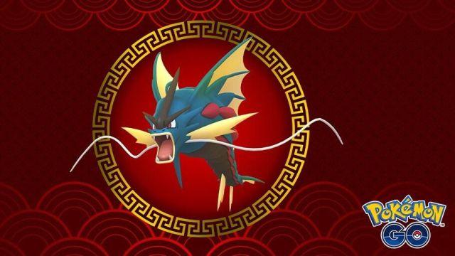Mega Gyarados en Pokémon GO