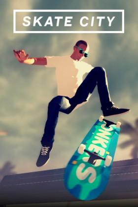 Carátula de Skate City