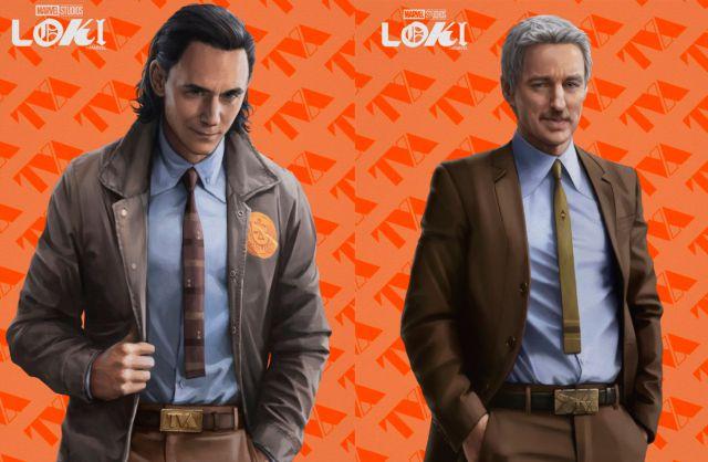 La serie Loki de Marvel Studios se deja ver a través de nuevos artes promocionales