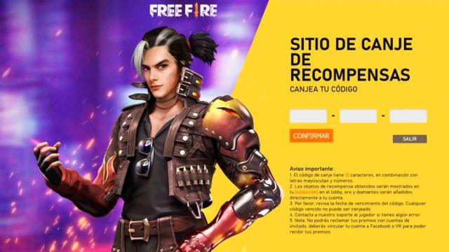 Free Fire: códigos de recompensa gratis para hoy, 11 de abril de 2021