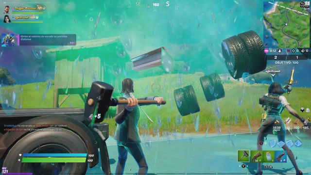 Fortnite Chapter 2 Season 6 Challenge Missions Week 6 Challenge Mission Get the maximum shield in different games