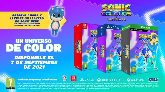 SEGA anuncia Sonic Colors Ultimate; fecha, ediciones, resolución 4K y más -  MeriStation