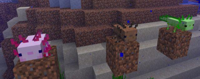 Minecraft 1.17 update news content patch copper goat amethyst axolotls